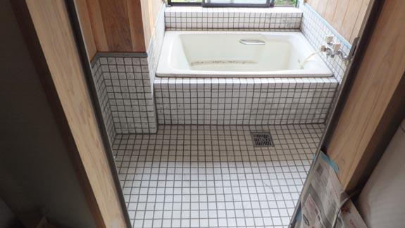 お風呂のタイル貼り4/4 - 山 ...